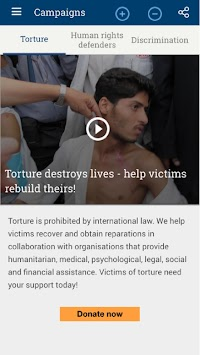 UN Human Rights APK screenshot thumbnail 4