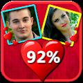 App Love Calculator : match by name, photo,fingerprint apk for kindle fire