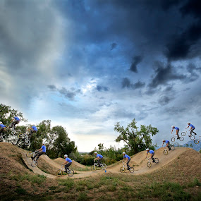 JUMP by Dieter A - Sports & Fitness Cycling ( mountain, bike, colorado, boulder, trick, bike park, jump )