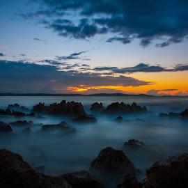 Magic Sunset by Branko Meic-Sidic - Landscapes Waterscapes ( magic, sunset, beautiful, dramatic, croatia, zadar, colours, petrcane )