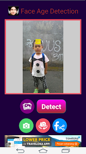Face Age Detection - screenshot
