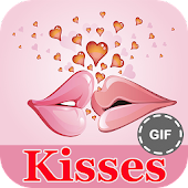 Kisses and Hugs GIF Collection Icon
