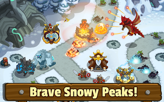 Realm Defense: Fun Tower Game APK screenshot thumbnail 9