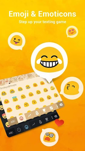 Facemoji Keyboard + GIFs Android App Screenshot