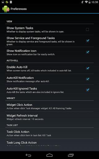 Task Manager (Task Killer) screenshot 11