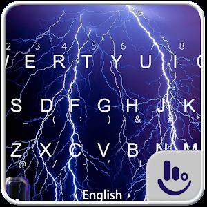 Scary Flash Keyboard Theme