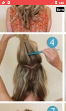Girls Hairstyle Step By Step APK
