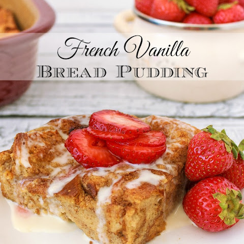 French Vanilla Bread Pudding