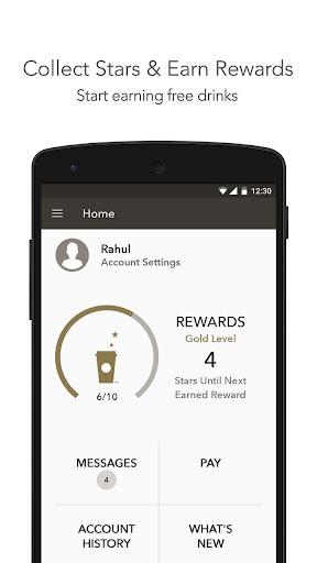 Starbucks India screenshot 1