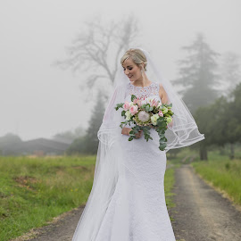 Bride by Lood Goosen (LWG Photo) - Wedding Bride ( wedding photography, wedding day, weddings, wedding, brides, wedding flowers, wedding photos, wedding dress, destination wedding, wedding photographer, bride, mist )