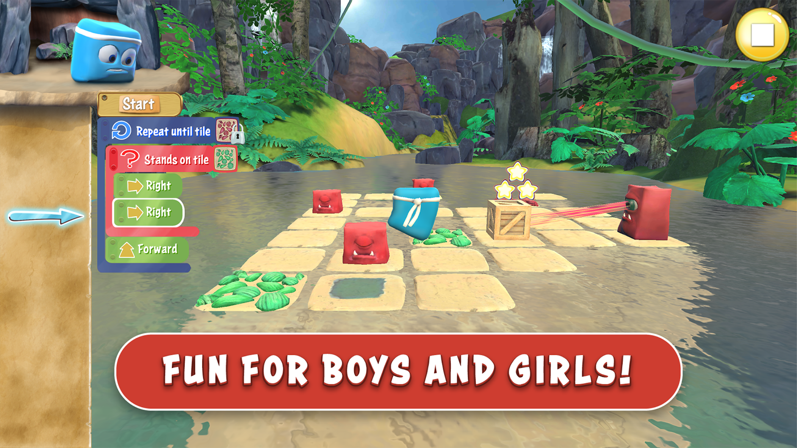 Box Island - Kids Coding Game! (Unreleased) Screenshot 2