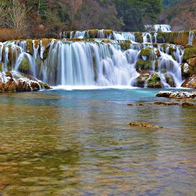 Krka  by Jelena Puškarić - Landscapes Waterscapes ( waterscape, colors, waves, waterfall, landscapes )