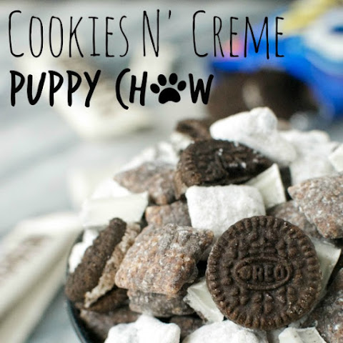 Cookies n' Creme Puppy Chow