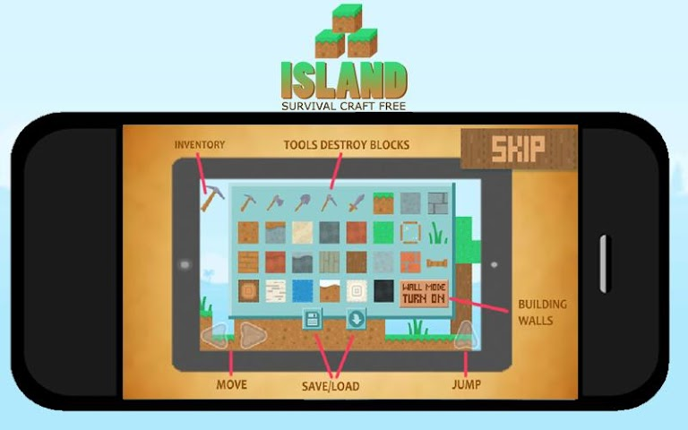 android Island Survival Craft FREE Screenshot 3