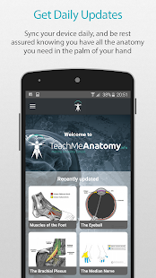 Teach Me Anatomy screenshot for Android