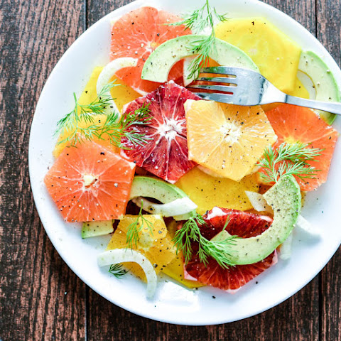 Golden Beet and Citrus Salad with Spiced Honey Vinaigrette