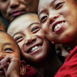 Bhutan by Stanley P. - Babies & Children Children Candids ( children candids )