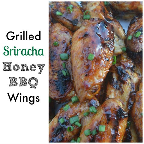 Grilled Honey BBQ Wings