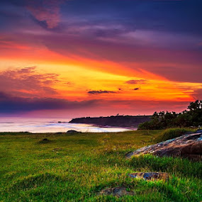 Light My Fire by Ridwan Adhitama - Landscapes Sunsets & Sunrises ( clouds, landscape photography, landscape )
