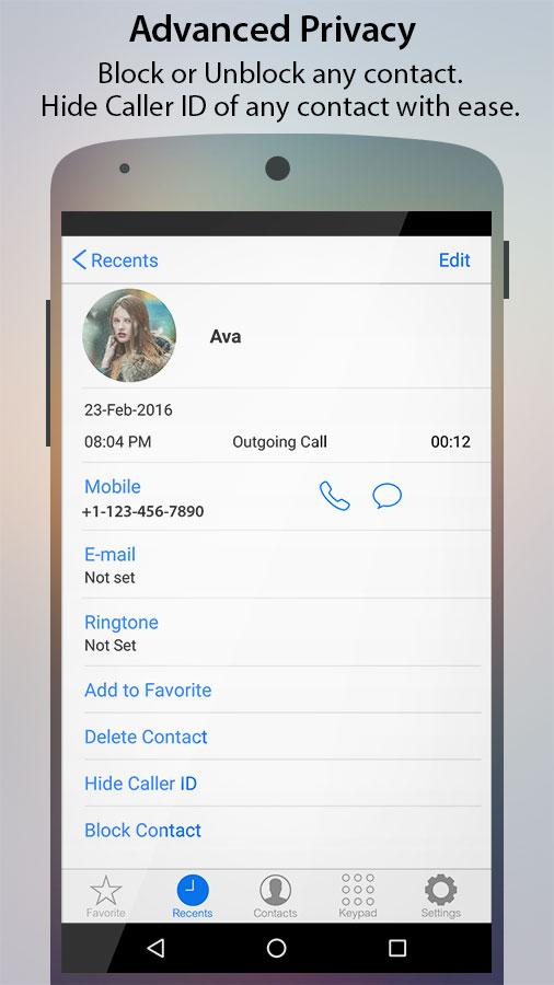 Caller Screen Dialer Pro Screenshot 5