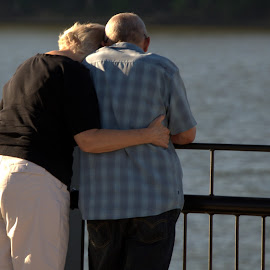 Ageless Love by Larry Bidwell - People Street & Candids