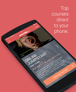 Amazing.com Online Courses screenshot for Android