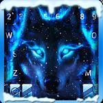 Ice Wolf 3D Emoji Keyboard Icon