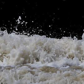 Ocean sculptures by Dirk Luus - Nature Up Close Water ( water, sculptures, waves, ocean, foam )