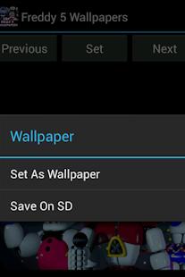 Freddy's 5 Wallpapers APK for Bluestacks