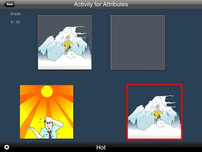 Activity for Attributes - screenshot