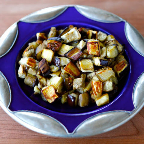 How to Roast Eggplant Cubes