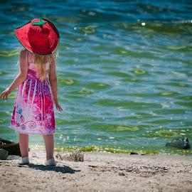 cree at the lake  by Robert Perkins - People Family ( KidsOfSummer )
