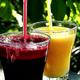 The cold juice in hot Saturday afternoon :) by Alka Smile - Food & Drink Alcohol & Drinks (  )