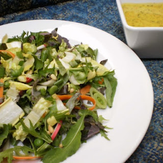 Spring Garden Salad with Kumquat Vinaigrette