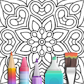 Game Mandala Coloring Book APK for Kindle