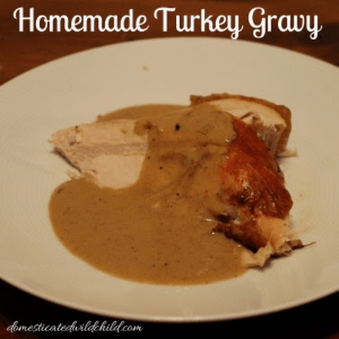 Homemade Turkey Gravy
