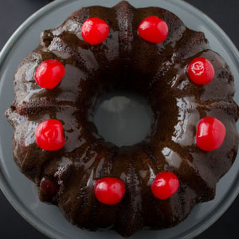 Cherry Chocolate Coca-Cola Cake