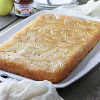 Ginger Apple Upside Down Squares