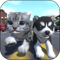 Game Cute Pocket Cat And Puppy 3D apk for kindle fire