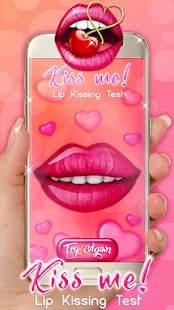 Kiss Me! Lip Kissing Test - screenshot