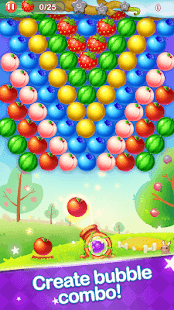 Game Bubble Fruit apk for kindle fire