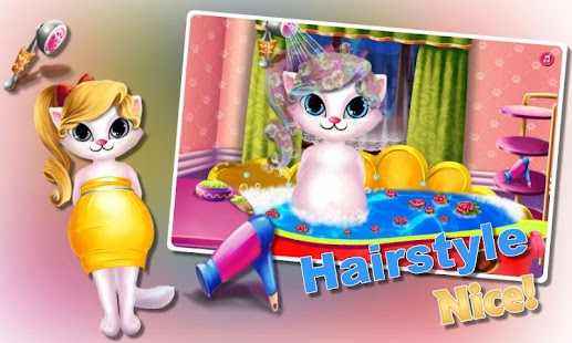 Pregnant Kitty Spa-Salon Day- screenshot