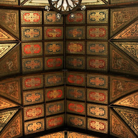 Looking up in a Cathedral by Carl VanderWouden - Buildings & Architecture Architectural Detail