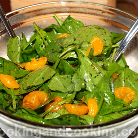 Spinach Salad with Mandarin Orange