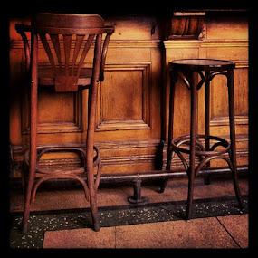 Bar #wood #stool #buffet #chair #pub #sarahlaurel #hiddenbradford by Sarah Laurel - Instagram & Mobile Instagram