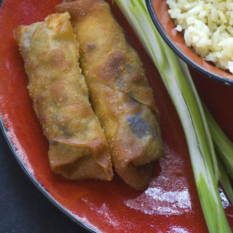Vegetable And Cellophane Noodle Egg Rolls