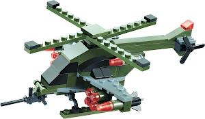 """Конструктор SuperBlock """"Военные маневры"""" Вертолет L"""