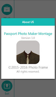 Passport Photo Maker Montage - screenshot