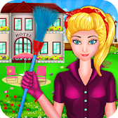 Hotel Room Fix It Laundry Girl APK Icon