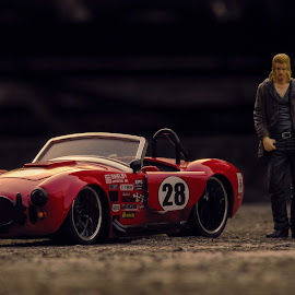 Shelby Cobra I by Iqbal Musthapa - Artistic Objects Toys